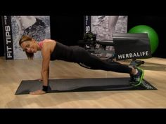 Push ups! Samantha Clayton's 60 Second Challenge | Herbalife Fit Tips
