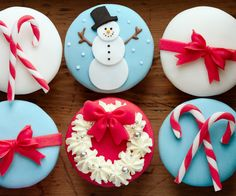 Cake design : cupcakes de Noël