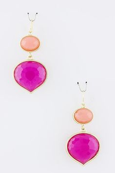 Sunset Drop earrings...WE HAVE THESE AT THE SHOP! So cute #kirbyskloset