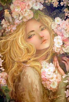 Illustrations by Jie He #artwork #Illustration #art