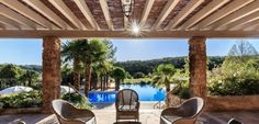 The Château de Berne Hotel & Spa is an upscale five-star hotel 1 hour and 17 minutes north west of Nice in Provencal back country. Come and stay here.