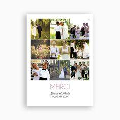 remerciements mariage personnaliss flash back - Remerciement Mariage Personne Absente