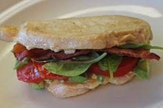 "No Grain, No Pain: Paleo Bacon, Lettuce, Tomato & Avocado ""Sandwich"" - 2 ways"