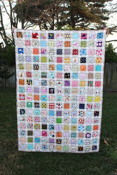 I Spy Quilt Complete | by Frizzymama13 She used a Disappearing nine patch pattern