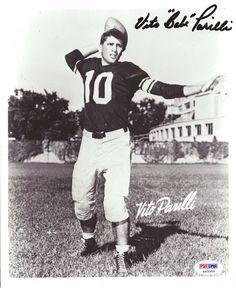 Vito Parilli Autographed 8x10 Photo Packers PSA/DNA #S43355