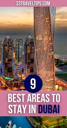 This guide with the 9 best areas to stay in Dubai is here to show you where to look for luxury at affordable rates. Let's find out where to stay in Dubai next.   Where to Stay in Dubai   Best Areas to Stay in Dubai   #dubai #dubaitravel Travel Guides, Travel Tips, Travel Destinations, Travel Plan, Travel Articles, Dubai Travel, Asia Travel, Dubai Shopping, Travel Activities