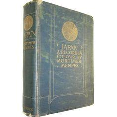 """Mortimer Menpes""""Japan"""" / モーティマー・メンペス「日本」 #BOOK"""