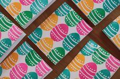 Block printed Easter Cards By Kirsten Rickert