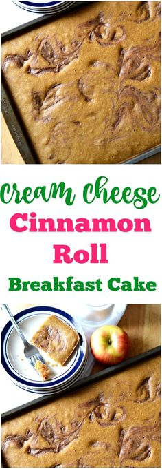 Cream Cheese Cinnamon Roll Breakfast Cake is a delicious easy recipe perfect for feeding a crowd. I love this for guests on Thanksgiving or Christmas morning breakfast. I love that it is cooked in a cookie sheet.