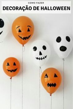 Check out our latest easy Halloween decorations party diy decor ideas. It will give you Halloween decorations party diy décor ideas, easy Halloween decorations for kids fun and cheap Halloween decorations dollar stores. Know more Halloween decorations ind Soirée Halloween, Halloween Balloons, Halloween Decorations For Kids, Adornos Halloween, Dollar Store Halloween, Diy Party Decorations, Vintage Halloween, Halloween Pumpkins, Halloween Dekoration Party