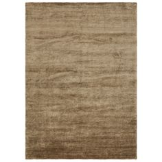 Hand-Knotted Fairfax Rug in Pale Nutmeg $1,850 [85% organic viscose, 15% cotton]
