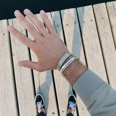 Have you already found your perfect match, because we certainly did?! Your Perfect, Perfect Match, Mens Fashion, Jewels, Bracelets, Silver, Ideas, Women, Moda Masculina