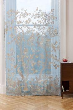 Lace Curtain Panels, Net Curtains, Window Panels, Window Coverings, Drapery, Burlap Window Treatments, Damask Curtains, Window Privacy, Window Curtains