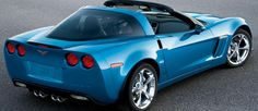 2011 Corvette - JetStream Blue of course