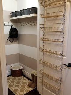Coat closet storage ideas under stairs 43 Ideas for 2019 Understairs Storage Closet coat Ideas stairs storage Coat Cupboard, Hall Cupboard, Cupboard Storage, Pantry Shelving, Coat Storage, Stair Storage, Hidden Storage, Under Stairs Pantry, Under Stairs Storage Solutions