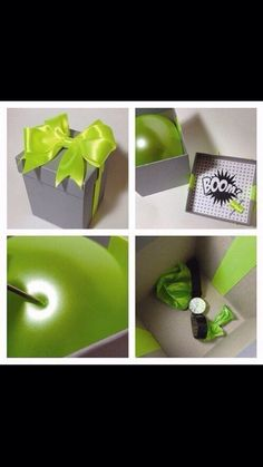 New Gifts Wrapping Diy Ideas Diy Birthday, Birthday Presents, Cute Gifts, Diy Gifts, Diy Cadeau Noel, Cadeau Surprise, Gift Packaging, Creative Gifts, Boyfriend Gifts