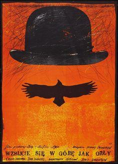 Polish movie poster: Wzbijcie sie w gore jak orly  Andrzej Pagowski, 1981