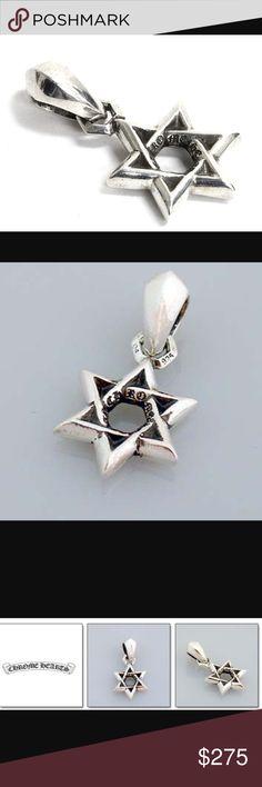 29fdf059365 💥Chrome hearts Star of David pendant sterling💥 Chrome hearts Star of  David sterling silver