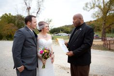 It's official! | Bartel Wedding Photo By donna harris photography , Bro. adrian at Rocking j ranch