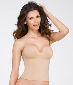Dominique Longline Smooth Strapless Bra 8541 at BareNecessities.com