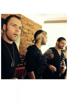 Dean Ambrose, Seth Rollins, and Roman Reigns