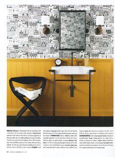 House & Garden, May 2011 - News archive - Sandberg Tyg & Tapet