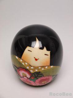 Japanese Sousaku Kokeshi Doll by Koho / Yukitsubaki (G)
