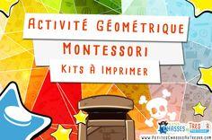 Formes géométrique pour maternelle. Activité géométrique à imprimer pour les enfants entre 3 et 7 ans. Téléchargez le…