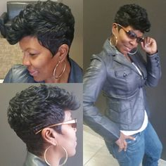 the first hair style I have seen that almost made me get a relaxer again.....