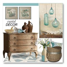 """""""Coastal Decor"""" by brendariley-1 ❤ liked on Polyvore featuring interior, interiors, interior design, home, home decor, interior decorating, Somerset Bay, Uttermost, Park B. Smith and Pier 1 Imports"""
