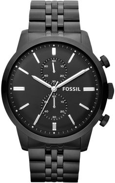 FS4787 - Authorized Fossil watch dealer - MENS Fossil TOWNSMAN, Fossil watch, Fossil watches