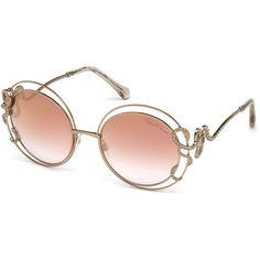 75272b0671b Shop Roberto Cavalli Carducci Round Sunglasses for Women