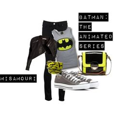 My Batman TAS look.