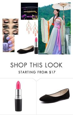 """""""Untitled #652"""" by madalena-volturi ❤ liked on Polyvore featuring MAC Cosmetics, Verali and Kate Spade"""