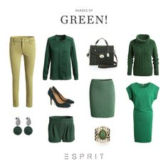 Not every green looks the same. Convince yourself of the versatility of the new trend color and discover our new favorite styles! #Esprit