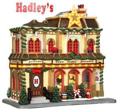 Hadley's Department Store, with 4.5v Adapter - Lemax Christmas Caddington Village