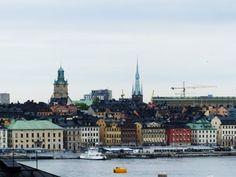 Vue sur la ville de Stockholm #instantVDS16