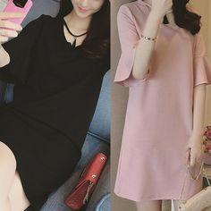 XL-5XL Black/Pink Hollow Out Tassels Pendant Dress SP166489