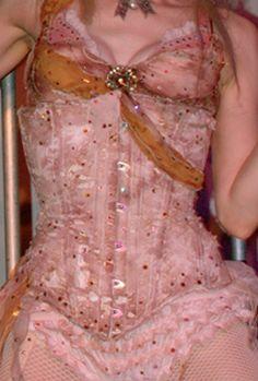 corsets - misslucyandherleeches: Emilie Autumn   Corset... Appreciation Post, Burlesque, My Idol, Shapes, Autumn, Crumpets, Pretty, Pink, Rococo