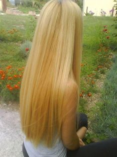 Oh how I wish that my hair would grow this long! My hair hasn't grown forever! It makes me so mad!!!