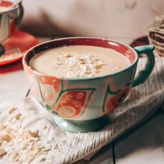Creamy and warming - perfect for winter!
