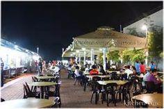 Makansutra Gluttons Bay - Singapore.  Great night street food corridor