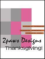 2paws Designs: Friday Freebie - Thanksgiving 2008 template #scrapbooking #digiscrap #free