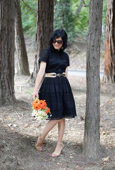SUMMER DRESS-TALBOTS EYELET SHIRTDRESS