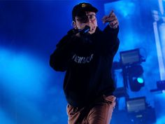 Motor-mouthed rapper Logic challenged the American Sign Language interpreter to keep up with a crazy fast freestyle  and she killed it