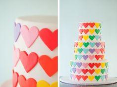 bolo de 15 anos colorido - Pesquisa Google