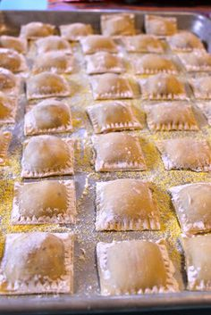 Fig, prosciutto and mascarpone cheese Ravioli