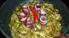 """""""FABULOSA SARTENADA DE SETAS Y #JAMON"""". La receta es de Carmen Suarez. http://carmenmavis.blogspot.com.es/2013/10/sartenada-de-setas-y-jamon.html"""