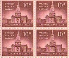 Independence Hall Set of 4 x 10 Cent US Postage Stamps NEW . $12.30. Independence Hall Set of 4 x 10 Cent US Postage Stamps NEW