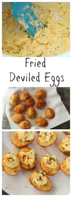 Learn how to make Fried Deviled Eggs from CookedByJulie.com